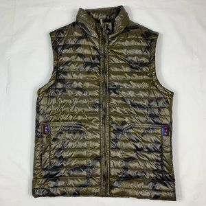 I Jeans Buffalo Green Camouflage Zip Hooded Vest
